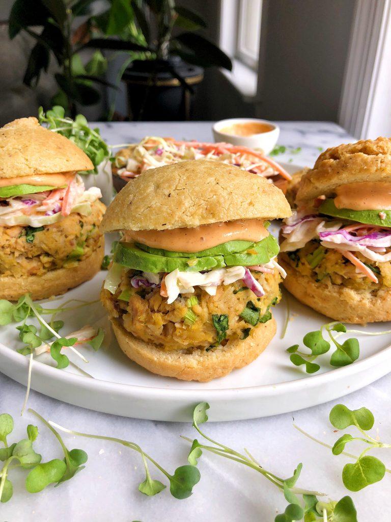 Salmon Burgers Recipe Bbc Good Food