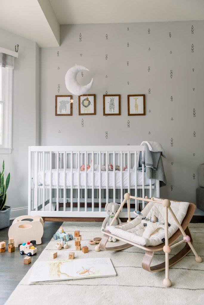 Ezra's nursery reveal with room & board