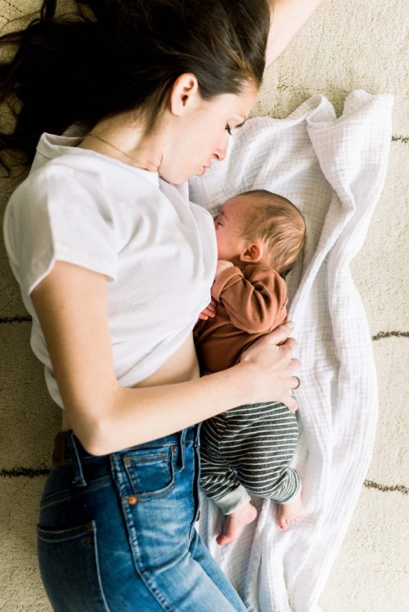 my truth about breastfeeding