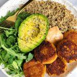 Chickpea-less Sweet Potato Falafels (grain-free + vegan-friendly)
