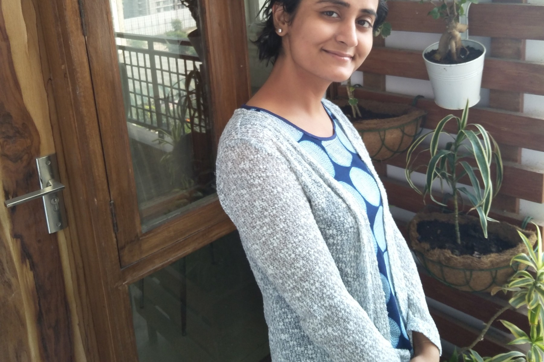Parul Thukral today after overcoming stage 3 breast cancer