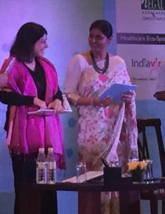 Anupriya Patel, Minister of State in the Ministry of Health and Family Welfare