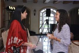 Gauri Tandon with Dr Bhavana Gautam