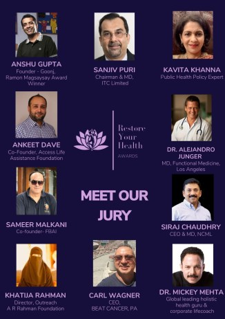 Our Esteemed Jury