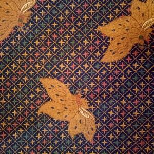 Motif cap colet batik Truntum Kupu