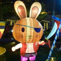 Mid-Autumn Festival Hong Kong 2011, Moon Fun Playground lantern exhibition: Fairground attraction!