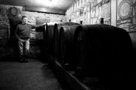 Račiansky vinár Karol Križanovič st. FOTO: Marcel Rebro