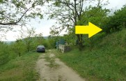 Ak ste na tomto mieste, je bunker od vás len asi 40-50 metrov.