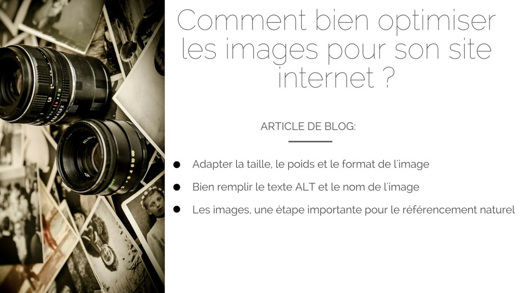 Comment bien optimiser les images pour son site internet ?
