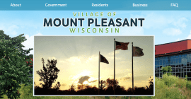 Village of Mount Pleasant Website