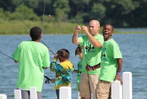 2014 Cops 'n Kids Fishing Trip