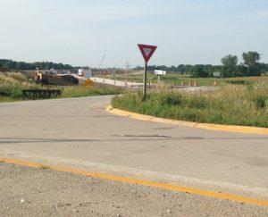 Northbound I-94 on-ramp