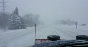 Hwy 11 Willow Road Feb 1 Blizzard