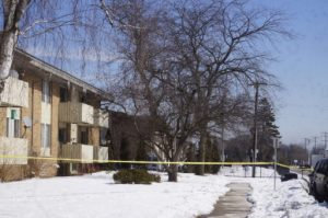 The Allegro Apartments, 4015 Erie St., were sold.