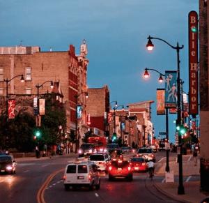 Downtown Racine