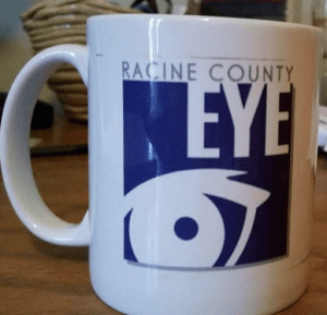 Racine County Eye coffee mug