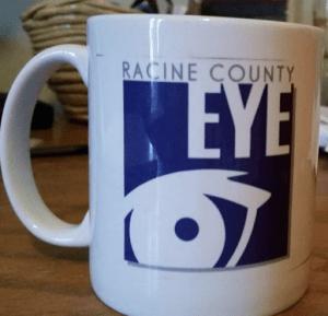 Racine County Eye coffee mug