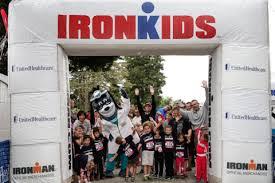 Ironkids starting line