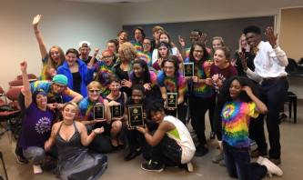 Students from the Case High School Theater Group earned high awards at the state competition this weekend.