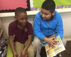 RCLA 6th graders reading 4