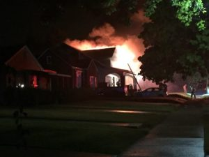July 23 2016 Lathrop Avenue fire