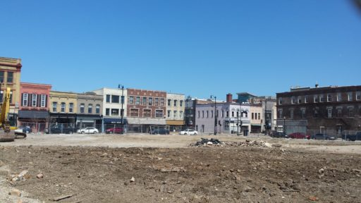 The lot where the Porter's Building was is now clear, now what?