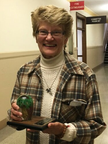 Caledonia Woman Recognized For Environmental Work