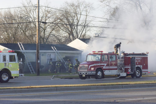 Firefighters battle Fire at 6533 Washington Ave.