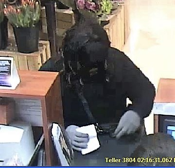 Tri-city National Bank robber