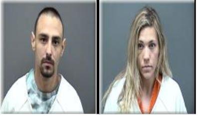 Drug arrest Crystal Meth