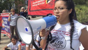 DACA Hunger Strike safe schools