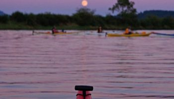 Riverbend full moon paddle