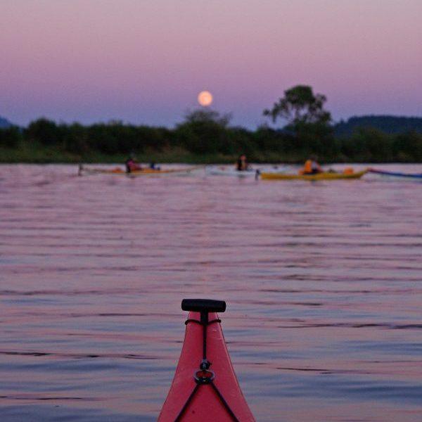 Riverbend full moon paddle