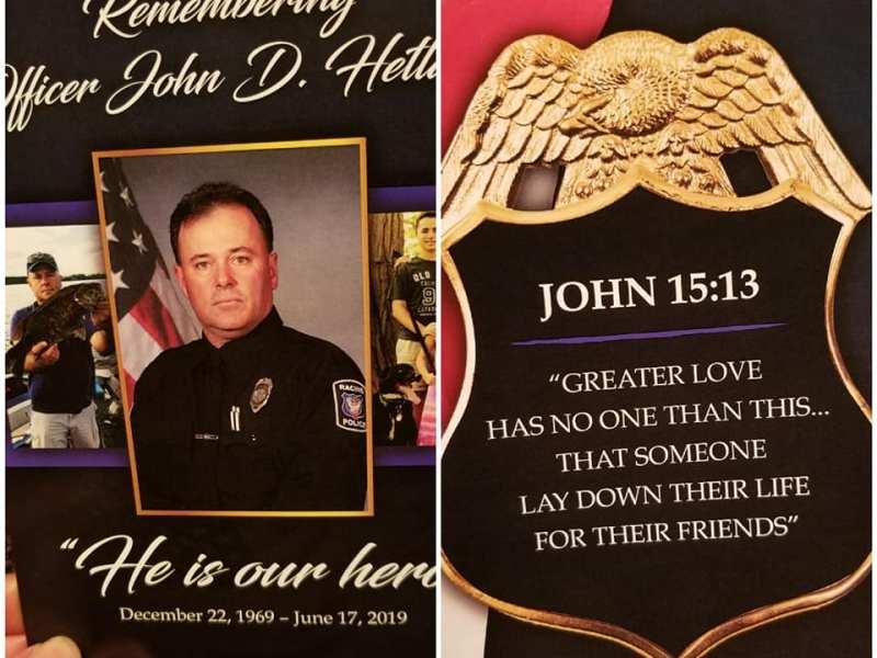 Racine Police Officer John Hetland