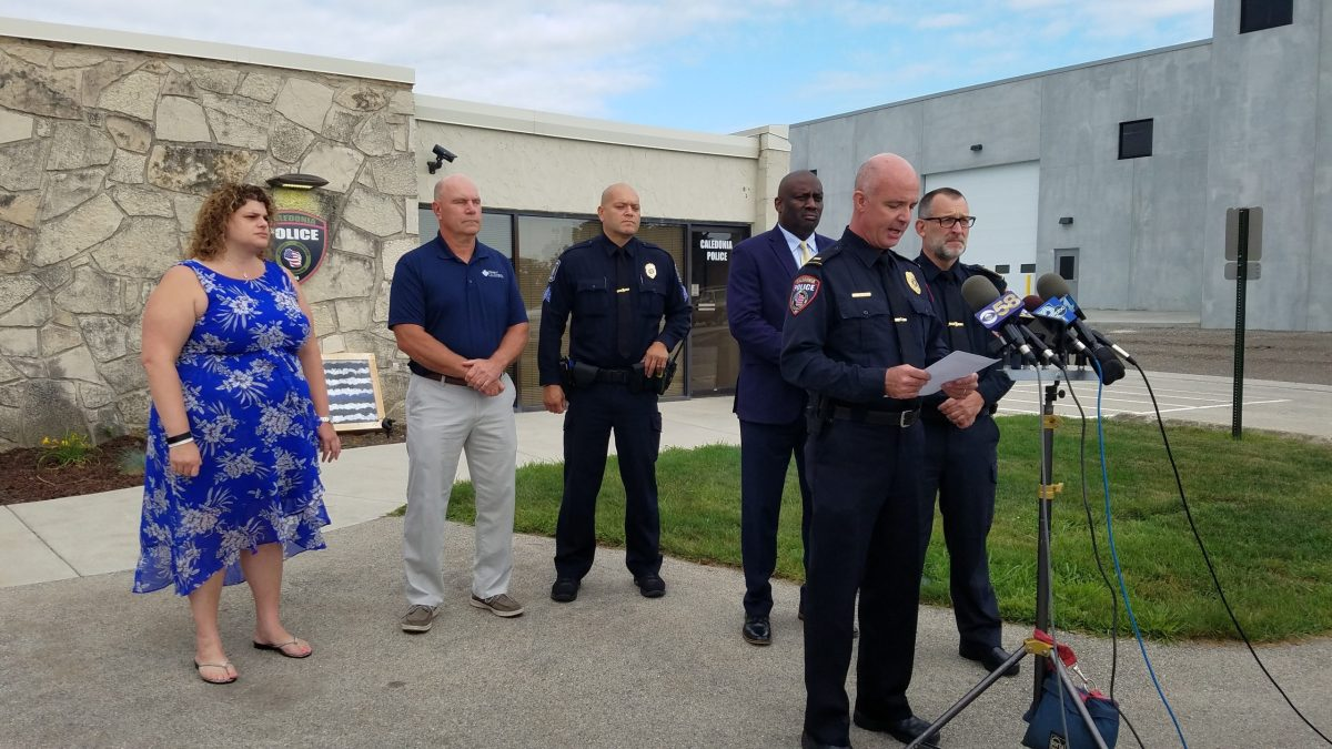 Caledonia Police Department, officer-involved shooting, Jared Nelson