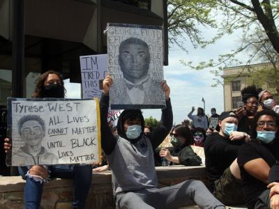 BLM, George Floyd, Racine Protests