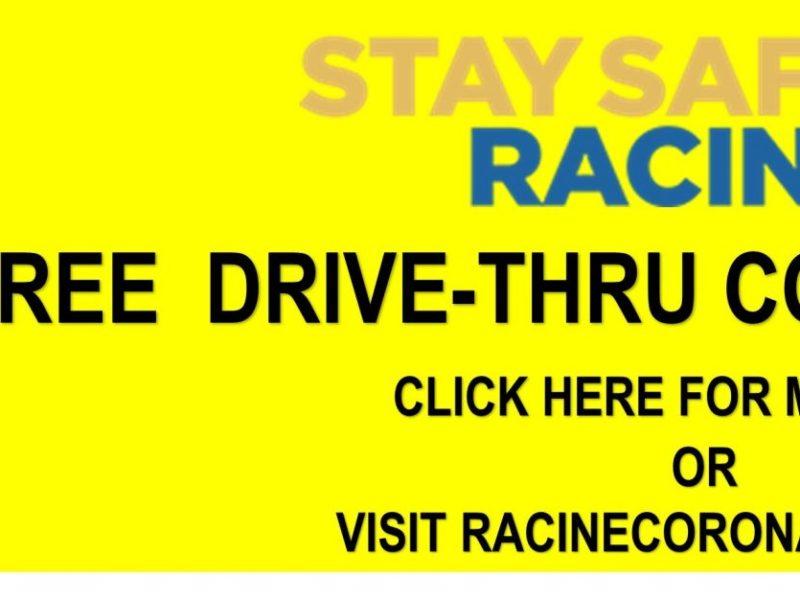 COVID-19 Drive Thru Testing Racine WI
