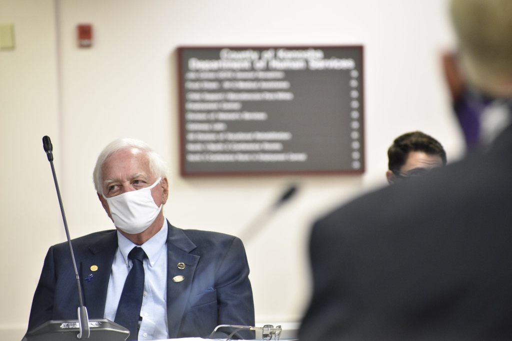 John O'Day, Kenosha County Board, tempers flare
