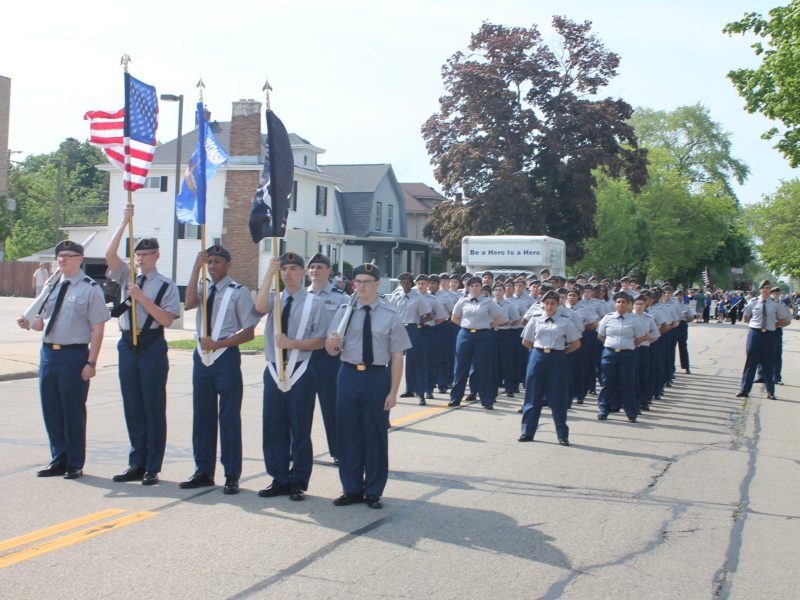 JROTC at Parkside