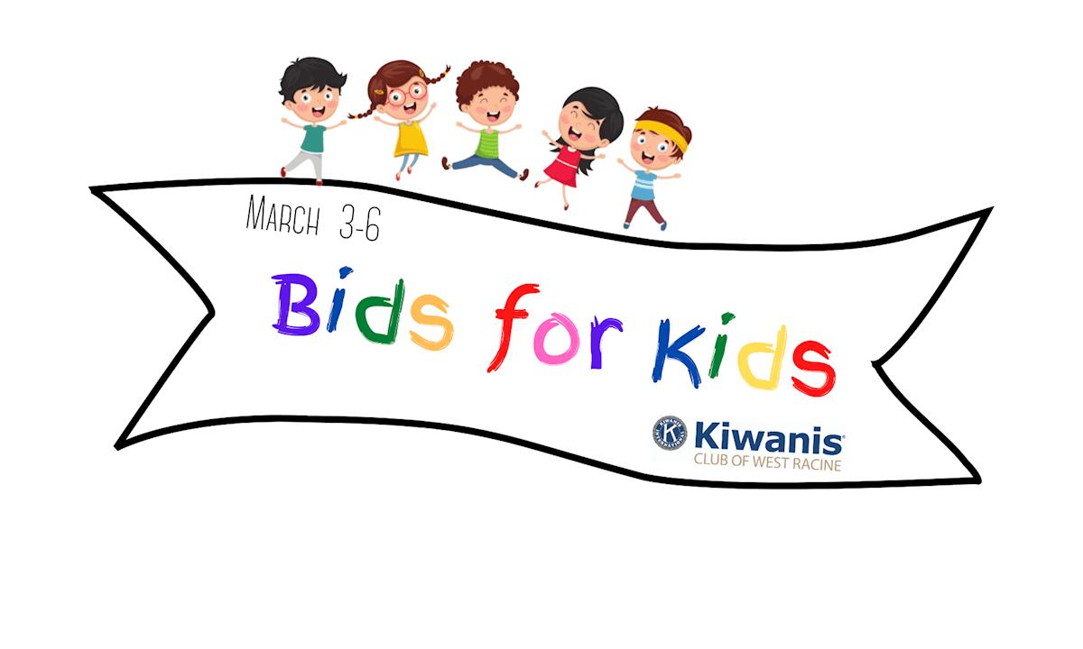 kiwanis club of west racine silent auction bids for kids fundraiser 2021