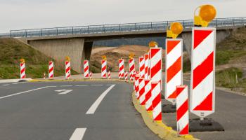 Highway 38, road construction, Racine County, Wisconsin