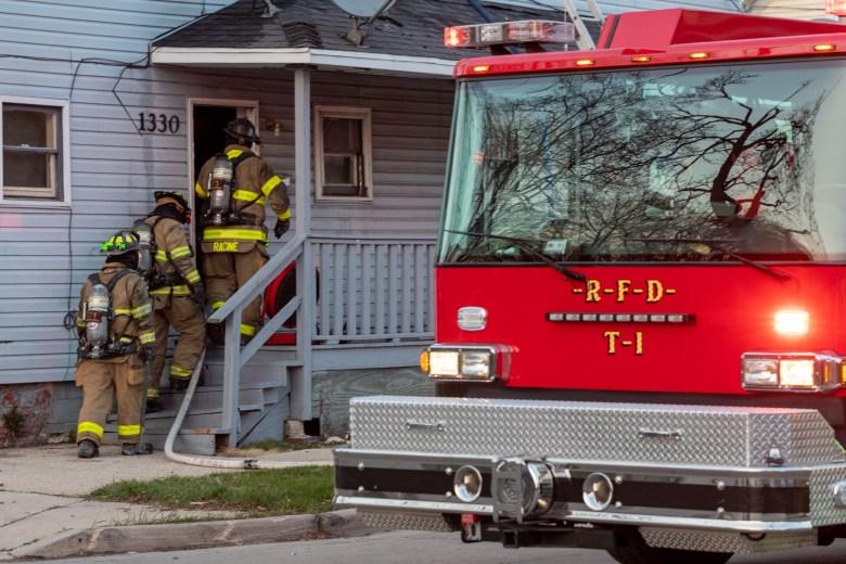 Racine Fire Department, St. Patrick Street fire