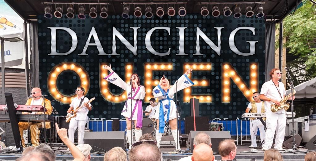 Racine zoo concert artist dancing queen