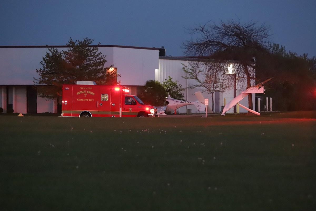 Plane crash, Racine, Wisconsin