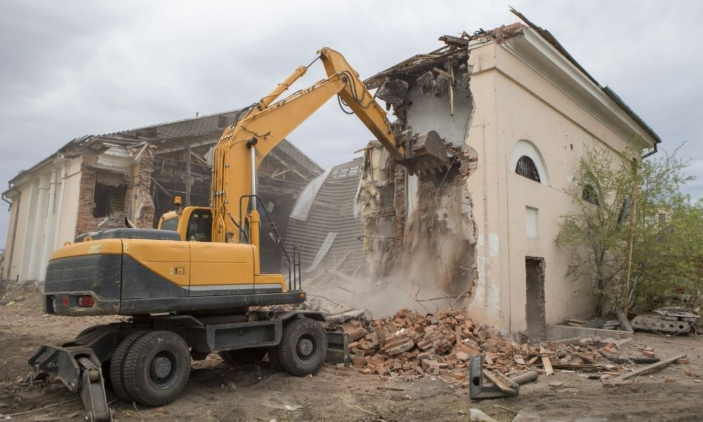 Workplace Safety Precautions During Demolition