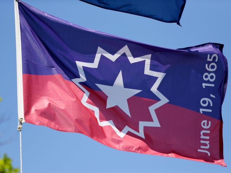 juneteenth flag flown wisconsin capital racine county eye