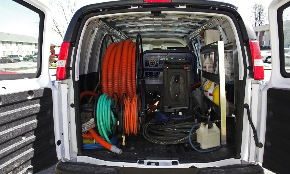 Tips for Keeping Your Work Van Clean