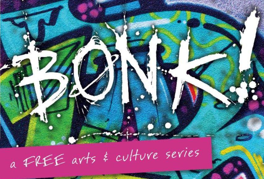 bonk, bonk!, racine public library, racine, things to do in racine, things to do, hip hop