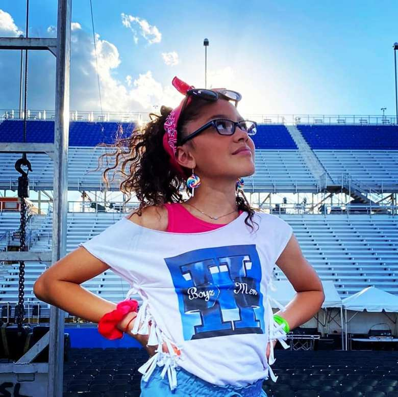 Photo Credit: Liamani Sings Facebook Page, Liamani Segura at the Wisconsin State Fair