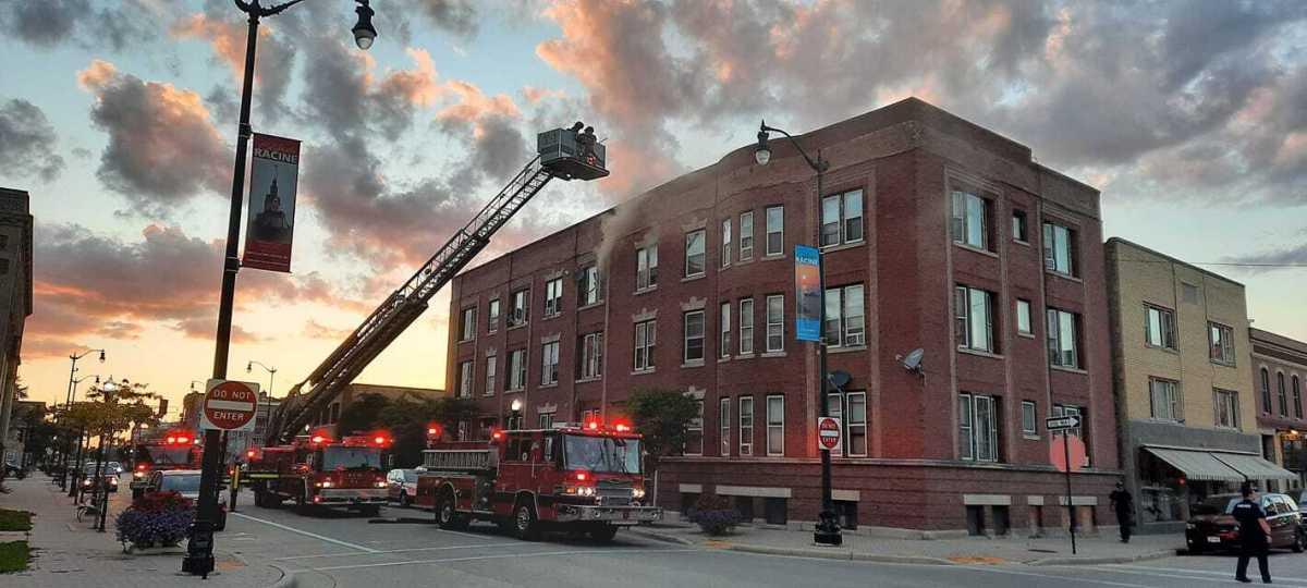 Racine, racine fire, racine fire department